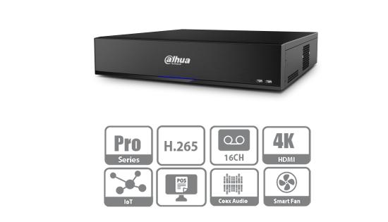 Нові відеореєстратори від Dahua Technology