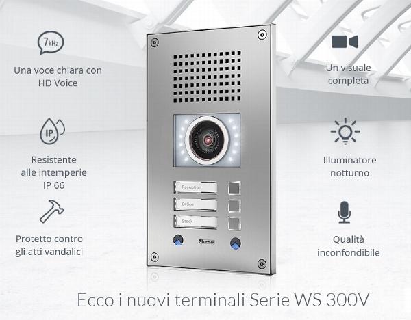 Интерком-терминал WS 300V