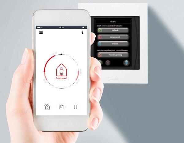 Приложение Danfoss Link для управления систем отопления