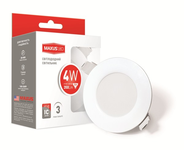Точковий світильник Maxus 1-SDL-001-01
