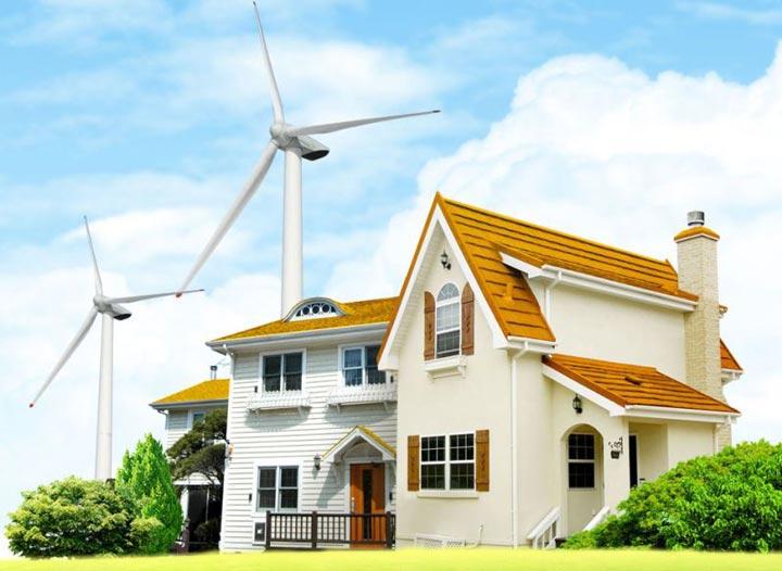 ветровой генератор в электроснабжении дома
