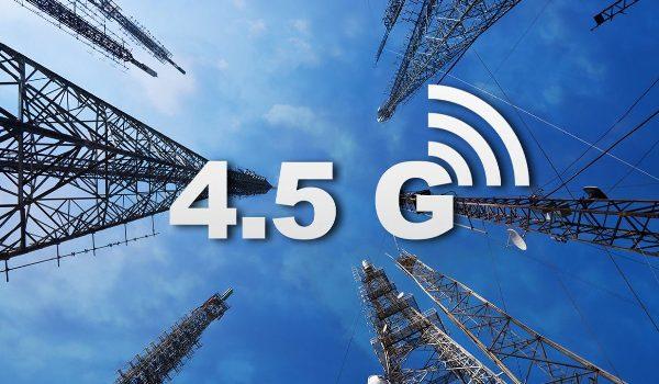 Стандарт передачі даний 4.5 G