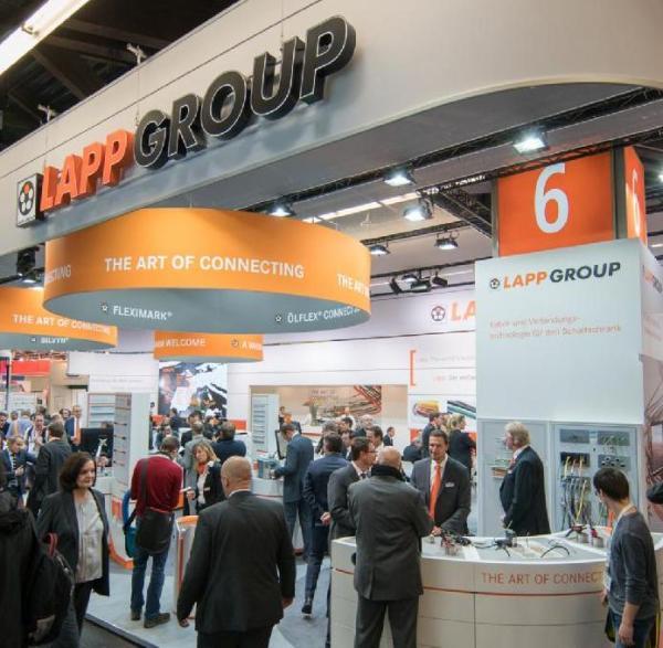 Стенд Lapp Group на выставке Hannover Messe 2016