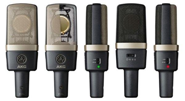 Конденсаторний мікрофон AKG C314