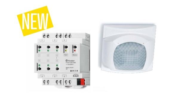 ТМ Finder представляет новые охранные датчики движения