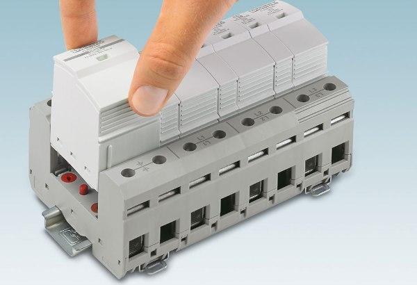 Грозозащитный разрядник Flashtrab-SEC-T1T2