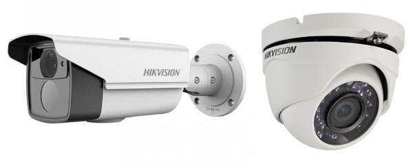 Камери відеоспостереження Hikvision HD-TVI