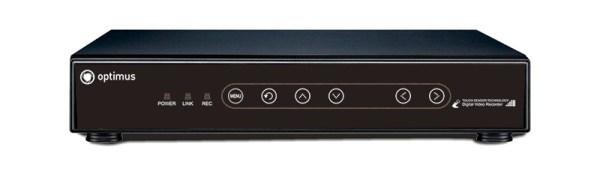 Сетевой видеорегистратор Optimus NVR-5041