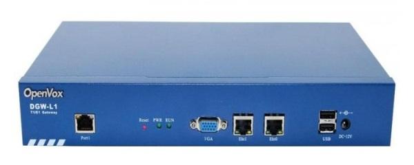VoIP-шлюз OpenVox DGW-L1 T1/E1