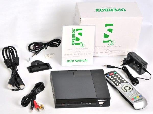Супутникова HD-приставка OpenBox S3 Mini HD