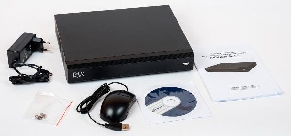 Комплектація HD-CVI відеореєстратора RVi