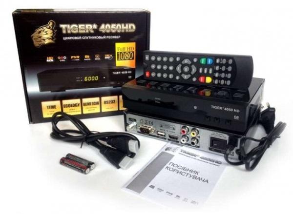 Супутниковий HD TV-ресивер Tiger 4050 HD