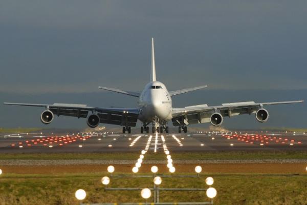 Генерация электричества из рёва двигателей самолета