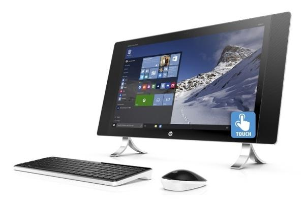 Моноблок HP Envy 34 Curved с вогнутым дисплеем