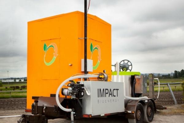 Генератор електричного струму з переробки біовідходів