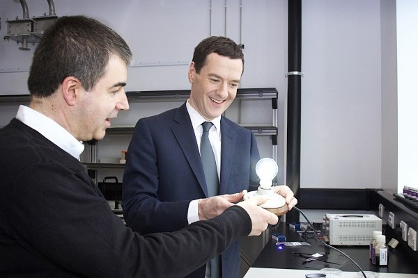 Лампочка на основі графену