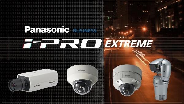 Відеокамери Panasonic з технологією i-PRO Extreme