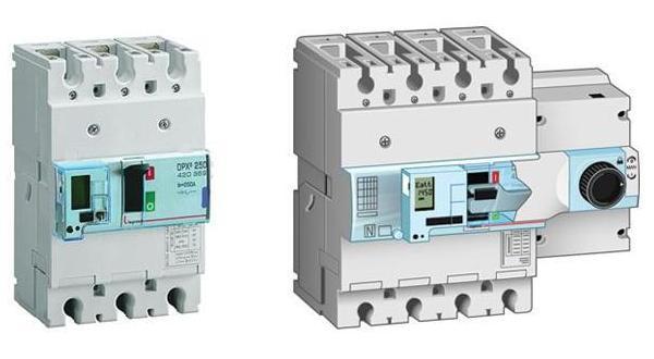 Линейка выключателей Legrand DPX 125 и 250