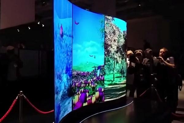OLED-дисплей з двостороннім зображенням