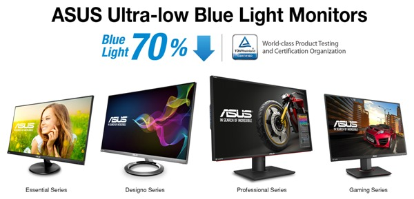 Технология Ultra-low Blue Light от Asus