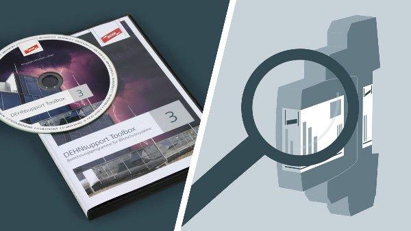 Приложение DEHNselect SPD для расчёта систем молниезащиты