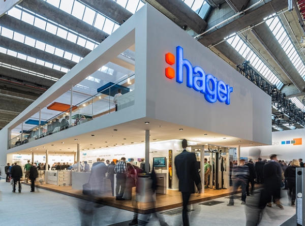 Виставковий стенд Hager на виставці Light + Building 2016