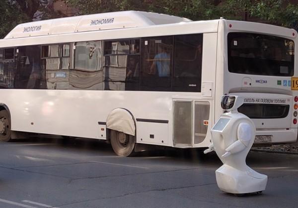 Робот IR77 пытался убежать